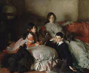 Essie Ruby And Ferdinand Children of Asher Wertheimer 1902 By John Singer Sargent