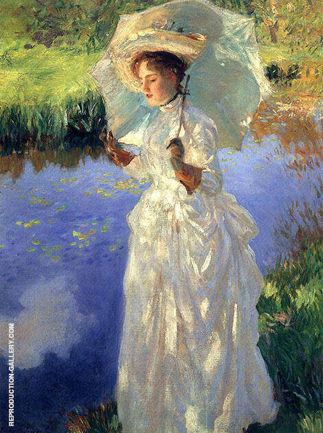 A Morning Walk 1888 By John Singer Sargent