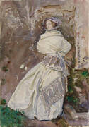 The Cashmere Shawl Rose-Marie Ormond 1910 By John Singer Sargent