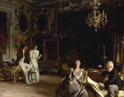 An Interior in Venice 1899 By John Singer Sargent