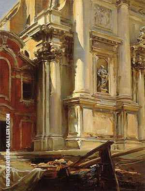 Corner of the Church of San Stae Venice 1913 By John Singer Sargent