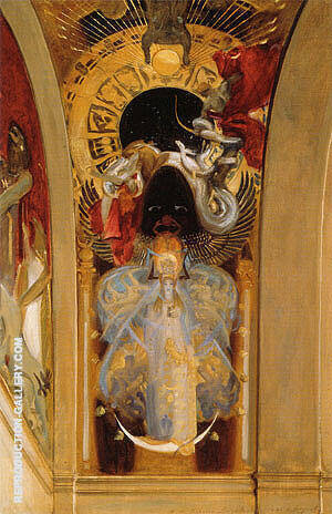 Astarte 1895 Painting By John Singer Sargent - Reproduction Gallery