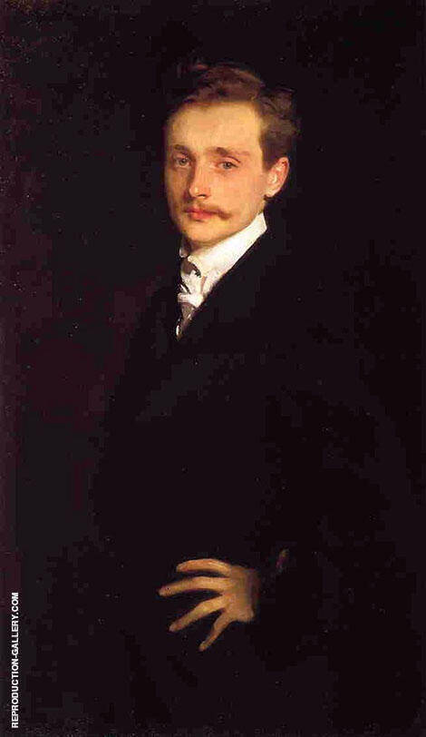 Leon Delafosse 1893 By John Singer Sargent Replica Paintings on Canvas - Reproduction Gallery