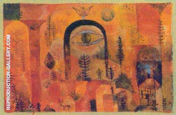 With the Eagle By Paul Klee