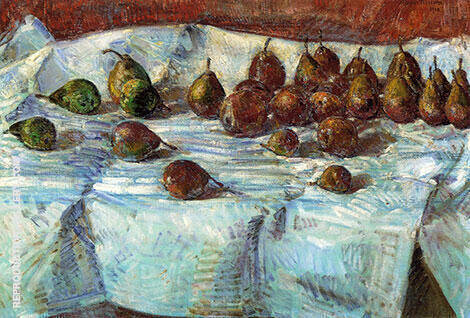 Winter Sickle Pears 1918 By Childe Hassam - Oil Paintings & Art Reproductions - Reproduction Gallery
