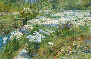 The Water Garden 1909 By Childe Hassam