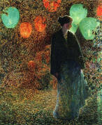 July Night 1898 By Childe Hassam