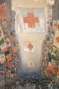 Red Cross Drive May 1918 Celebration Day By Childe Hassam