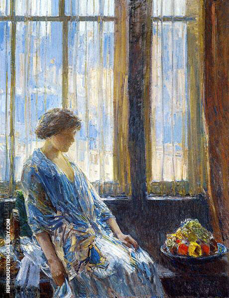 The New York Window By Childe Hassam
