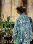 The Table Garden 1910 By Childe Hassam