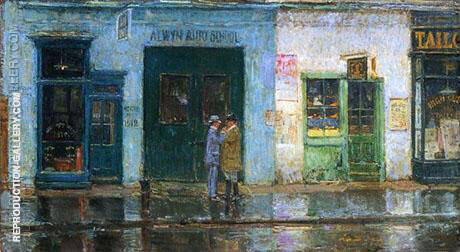 Little Cobbler's Shop 1912 By Childe Hassam