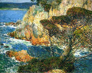 Point Lobos Carmel 1914 By Childe Hassam