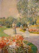 Parc Monceau 1897 By Childe Hassam