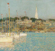 Cat Boats Newport 1901 By Childe Hassam