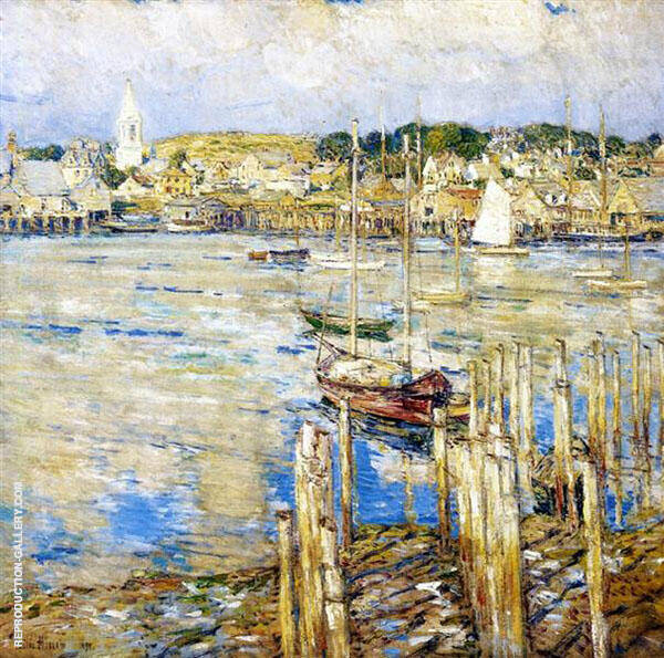 Reproduction of Gloucester 1899 by Childe Hassam | Oil Painting Replica On CanvasReproduction Gallery