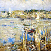 Gloucester 1899 By Childe Hassam