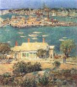 Gloucester Harbor 1899 By Childe Hassam