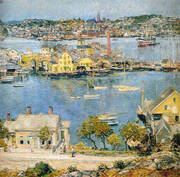 Gloucester Harbor 1899 2 By Childe Hassam