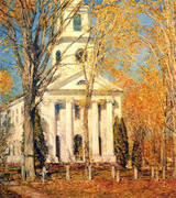 Church at Old Lyme 1905 By Childe Hassam