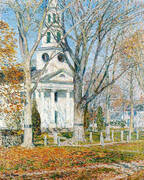 Church at Old Lyme 1903 By Childe Hassam