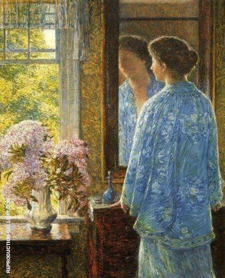 Twenty Sixth of June By Childe Hassam - Oil Paintings & Art Reproductions - Reproduction Gallery