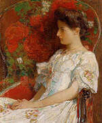 The Victorian Chair 1906 By Childe Hassam