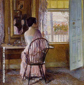 Reproduction of Morning Light 1914 by Childe Hassam | Oil Painting Replica On CanvasReproduction Gallery