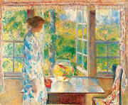 Bowl of Goldfish 1912 By Childe Hassam