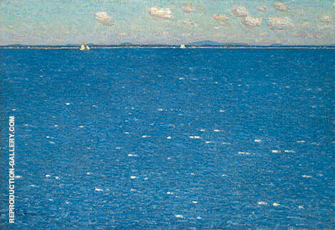 The West Wind Isles of Shoals 1904 By Childe Hassam