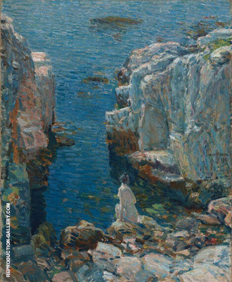 The Isles of Shoals 1912 Painting By Childe Hassam - Reproduction Gallery