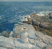 The South Ledges Appledore 1913 By Childe Hassam