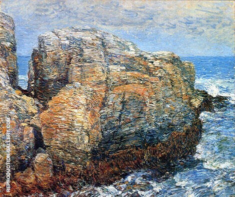 Sylph's Rock Appledore 1907 By Childe Hassam Replica Paintings on Canvas - Reproduction Gallery