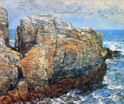 Sylph's Rock Appledore 1907 By Childe Hassam