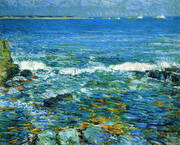 Duck Island from Appledore 1911 By Childe Hassam
