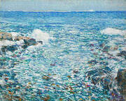 Surf Isles of Shoals 1913 By Childe Hassam