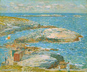 Bathing Pool Appledore 1907 By Childe Hassam
