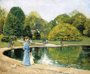 Central Park 1892 By Childe Hassam