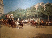 Grand Prix Day 1887 By Childe Hassam