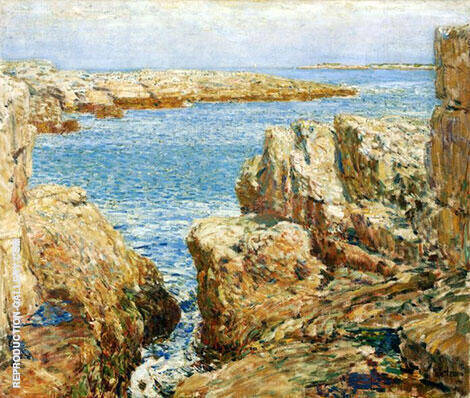 Coast Scene Isles of Shoals 1901 By Childe Hassam Replica Paintings on Canvas - Reproduction Gallery
