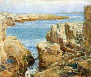 Coast Scene Isles of Shoals 1901 By Childe Hassam