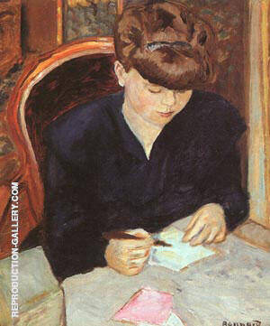 The Letter By Pierre Bonnard Replica Paintings on Canvas - Reproduction Gallery