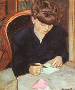 The Letter By Pierre Bonnard