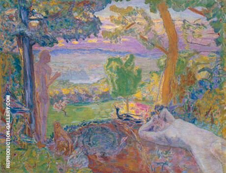 Earthly Paradise Painting By Pierre Bonnard - Reproduction Gallery