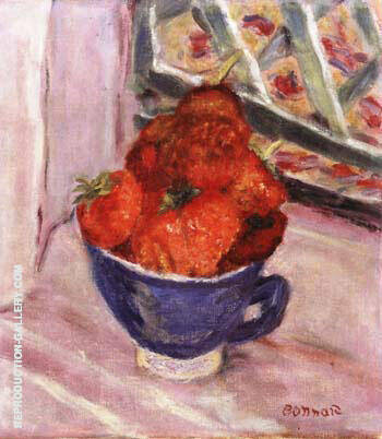 Strawberries By Pierre Bonnard - Oil Paintings & Art Reproductions - Reproduction Gallery