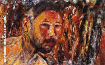 Self-Portrait with Beard 1920 Painting By Pierre Bonnard