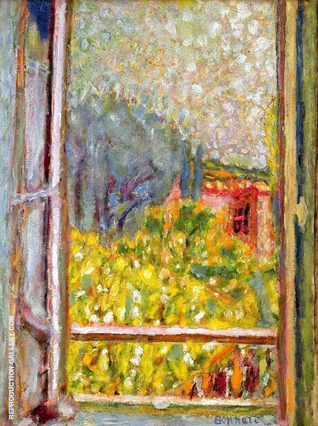 The Small Window By Pierre Bonnard