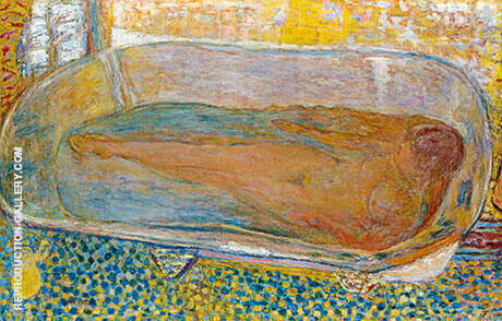 The Large Bath Nude By Pierre Bonnard Replica Paintings on Canvas - Reproduction Gallery