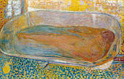 The Large Bath Nude By Pierre Bonnard