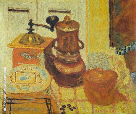 The Coffee Grinder 1930 By Pierre Bonnard - Oil Paintings & Art Reproductions - Reproduction Gallery