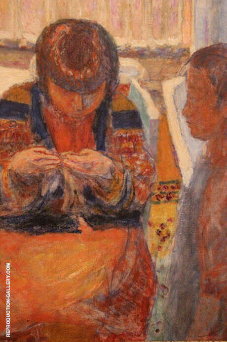 The Lesson By Pierre Bonnard